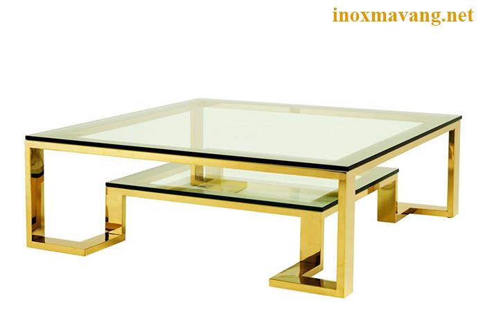Chân bàn inox titan với thiết kế không cầu kỳ nhưng vẫn sang trọng