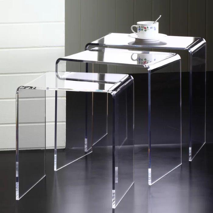 side table thiết kế bậc thang nesting