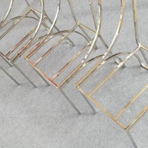 Ghế inox bóng gương mạ màu IA1093